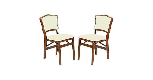 Amazon.com: stakmore Francés espalda acolchada silla ...