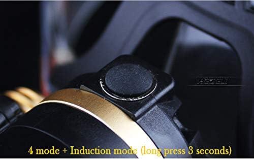 shenlanyu Headlamp Lnduction Headlight Ir Sensor Micro Usb Headlamp Rechargeable Lantern Cree Head Lamp Flashlight Head Torch 2020new