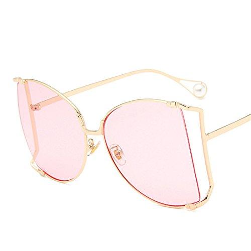 de de Las Sol Metal Gato de Gafas GCC Gafas Sol G expuesta de Ojo B del Pearl xIEwW4S