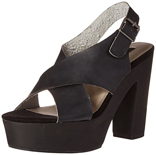 Michael Antonio Women's Tracker Platform Sandal, Black, 9 M US