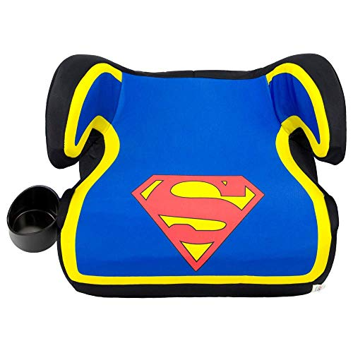 KidsEmbrace Superman Booster Car Seat, DC Comics Youth Backless Seat, - Pack Superman Booster