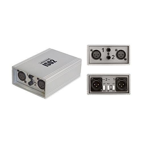 Line Level Isolator - Whirlwind ISO-2 Dual Line Level Isolator and Balancer