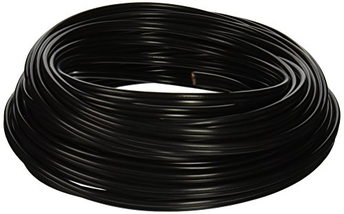 (Southwire 55213443 100-Feet 12-Gauge 2 Conductor 12/2 Low-Voltage Underground Direct Burial Landscape Lighting Cable, Black)