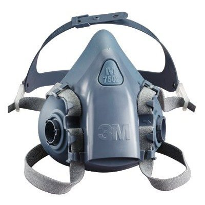 ERB Safety 13529 3M Half & Full Facepiece Respirators 7000 Series 7503 Half Mask Large