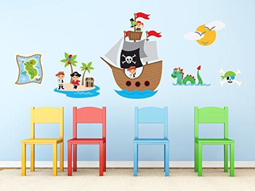 Sunny Decals Pirates Fabric Captain