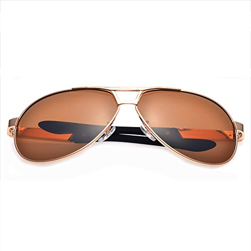 Exterior Sol de SEEKSUNG® Sol Gafas Deportes Negro polarizadas de Marrón de Gafas Mar Hombres Nueva Gafas Negro ksung® wvqPBXv