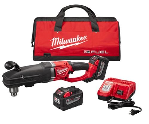 Milwaukee 2709-22HD M18 FUEL Super Hawg 1/2″ Right Angle Drill HD Kit