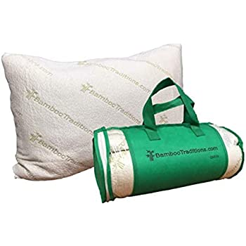 Amazon Com Bamboo Traditions Queen Pillow Home Amp Kitchen