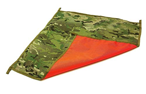 (2'x2' Large OCP Military GI US Army Personal Safety Signal Panel Marker )