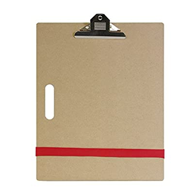 """US Art Supply Artist Sketch Tote Board - Great for Classroom, Studio or Field Use (11""""x17"""") from US Art Supply"""