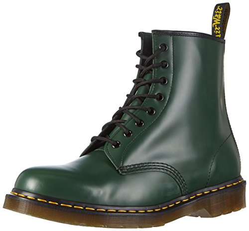 1460 Mixte Dr Bottines Martens Adulte green Vert qUnZ5Ox