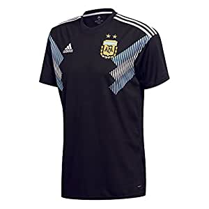 adidas Argentina Away Replica Jersey Camiseta Cuello Redondo Manga Corta Poliéster - Camisas y Camisetas (Camiseta, Niños, Masculino, Negro, Azul, Blanco, Imagen, Baby (Height))