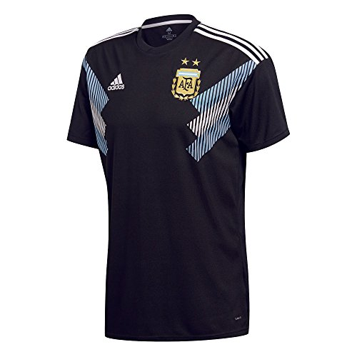 Maglia bianca clblue Adidas Argentina Replica Nera q8f8cOByw