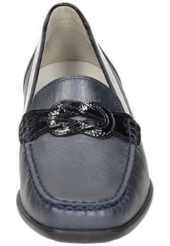 Waldläufer Blau Harriet 5 940737 Océan Slipper Damen PvPAT