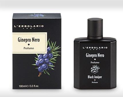 Lerbolario Black Juniper Perfume 100Ml Ginepro Nero