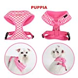 Puppia Lattice A Harness – Pink Small (Chest 12.6-18.9″), My Pet Supplies