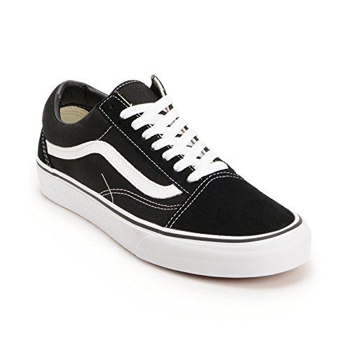 Vans Unisex Old Skool Classic Scarpe Da Skate Classico Nero / Bianco