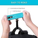 BAGAIL Digital Luggage Scale, 110lbs Hanging