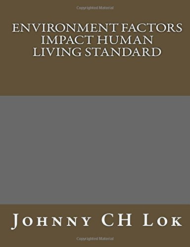 Environment Factors Impact Human Living Standard