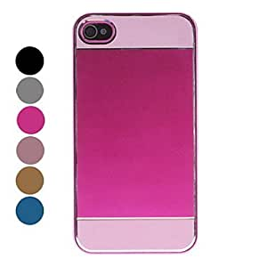 get Light Surface Pattern Hard Case for iPhone 4/4S (Assorted Colors) , Rose