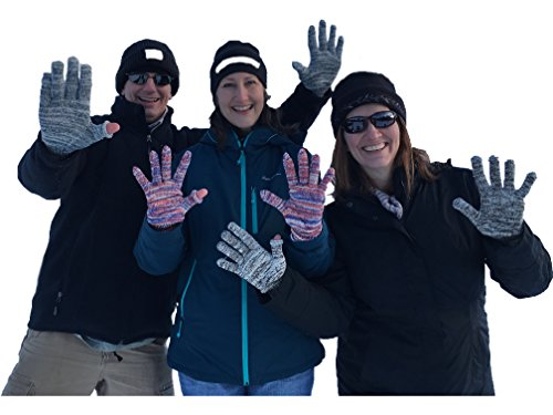 Aussie-Soft Form-Fitting Merino Wool Gloves Liners - USA - Phone Friendly ()