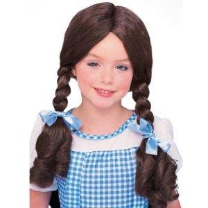 Rubie's Girls Wizard Of Oz Dorothy Wig Costume Accessory
