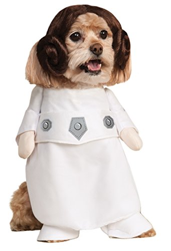 (Rubie's Star Wars Collection Pet Costume, Princess Leia,)