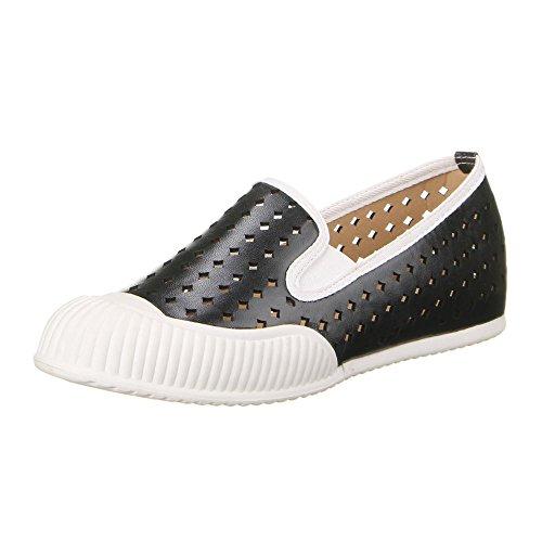 Ital-Design Damen Schuhe, C1128, Halbschuhe Schwarz