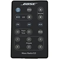 Bose Wave Radio/CD Remote Control (Black) - (AWRC-P1/AWRC-1G/AWRC-1B) - 193334-B02