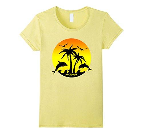 Womens Kona  Hawaii Medium Lemon