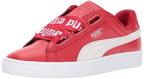 - PUMA Women's Basket Heart DE Wn, Toreador-Puma White, 10 M US