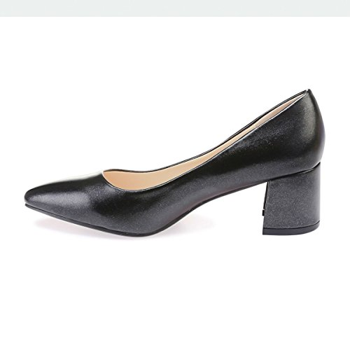 48013 De Modeuse Negro Sintético Zapatos Mujer La Vestir fS7qxnw5H