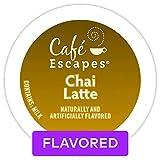Cafe Escapes Chai Latte K-Cups, 11.7 oz, 96 Count For Sale