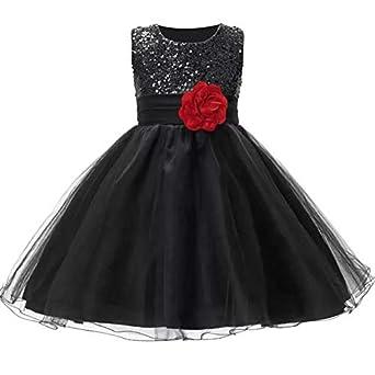 34ff3055a AP Boutique Baby Girl Frocks Birthday Party Wear Dresses Girls Fancy  Designer Black Dress (2