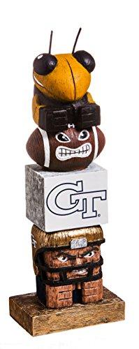 (Evergreen NCAA Georgia Tech Tiki Totem, Team Colors, One Size)