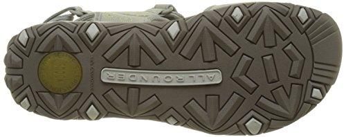 Allrounder by MephistoLagoona - Sandalias Atléticas Mujer Grau (Cemento/Cemento)