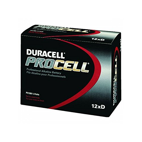 Proctor & Gamble Procell Alkaline ''D'' Battery, 12 Per Pack, 1 Pack by Proctor & Gamble