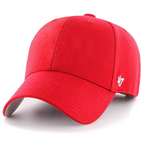 '47 Brand MVP Blank Hat - Red | Adjustable -