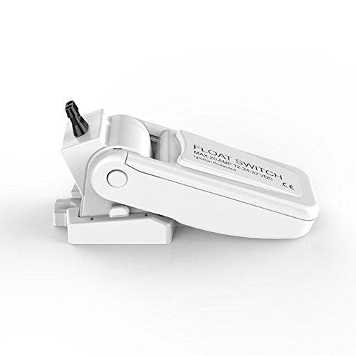 Automatic Bilge Pump Float Switch 12V 24V 32V For Boat Yacht White 18AWG