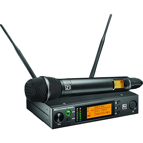Voice Electro Wireless Microphone - Electro-Voice RE3-ND86-5H Wireless Handheld System with ND86 Head, 560-596MHz