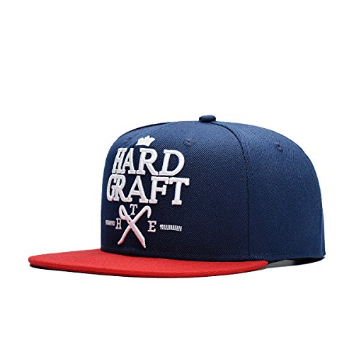 FayTop Fashion Snapback Boy Hat Hip-Hop Hat Printed Caps Flat Adjustable Baseball Cap V143H0003-blue Red