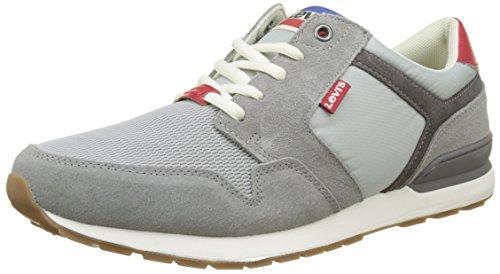 para Levi'S 0 NY Grey Light Zapatillas 2 Hombre Runner Gris qOXwHTO