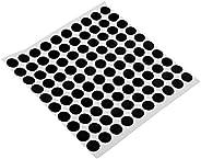 simhoa 100pcs Billiard Marking Stickers Table Stain Stickers
