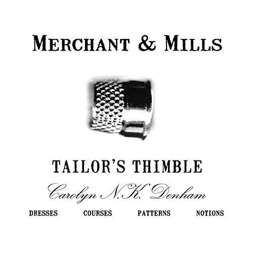 Merchant & Mill Solid Brass Open End Tailor's Thimble Sewing Quilting - Mills Open