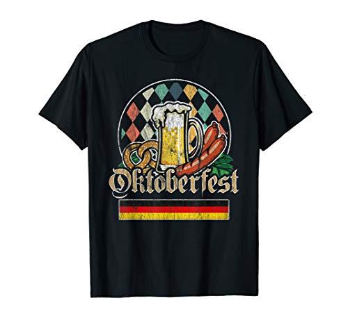 Vintage Oktoberfest Funny Oktoberfest Beer Christmas Gift T-Shirt