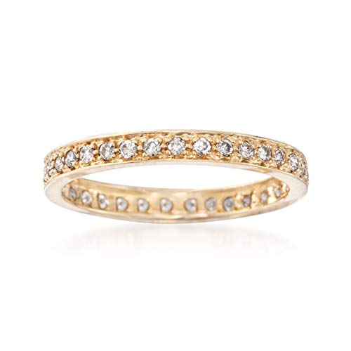 Ross-Simons 0.30 ct. t.w. Diamond Eternity Band in 14kt Yellow Gold ()