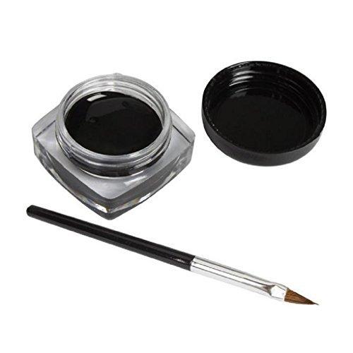 Laimeng, 1x Eyeliner Gel Cream With Brush Makeup Black Waterproof Eye Liner