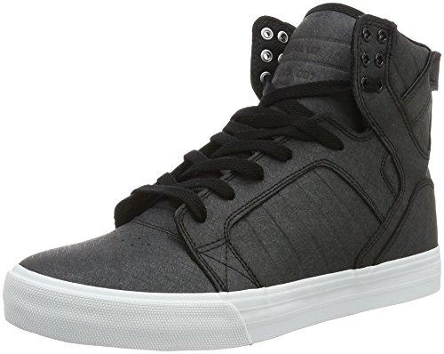 Skytop Black US Regular White WHITE 10 BLACKFIBREGLASS Supra Shoe UqP6zdd