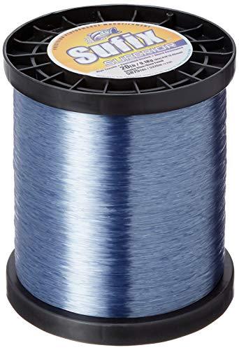 (Sufix Superior Spool Size Fishing Line (Smoke Blue, 20-Pound))