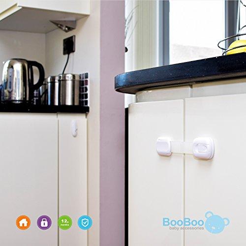 Booboo Child Baby Safety Cupboard Strap Locks Baby Proof